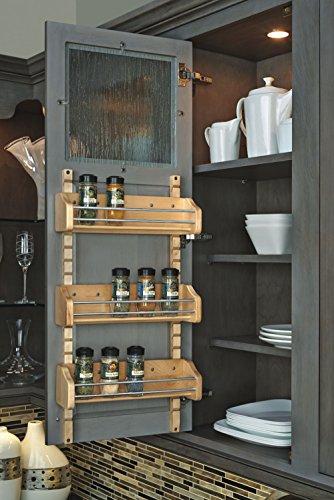 Rev-A-Shelf Adjustable Door Mount Spice Rack RS4ASR.18