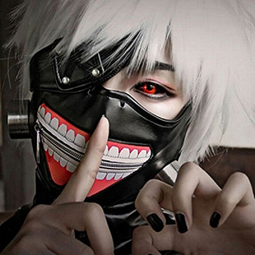 Homesupplier Tokyo Ghoul Cosplay Mask, Kaneki Ken Mask, Tokyo Ghoul Cosplay Costume is Your Best Choice