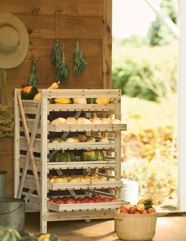 Orchard Rack, Garden Harvest Rack, 6 Drawer