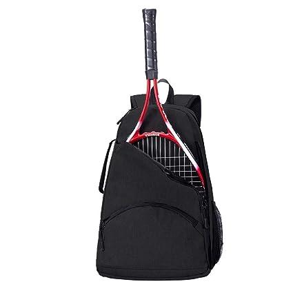 QEES Bolsa de raqueta de tenis, mochila de tenis, bolsa ...