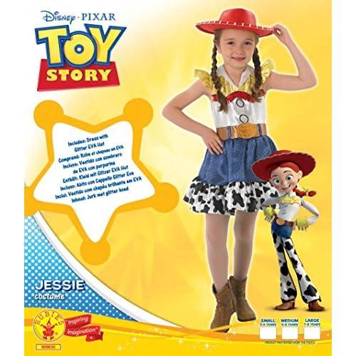 Well Wreapped Rubie S Disfraz De Jessy De Toy Story Para Ninas Con