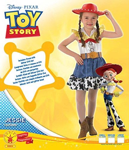 Rubies - Disfraz oficial de Jessie de Toy Story de Disney para niña - Talla  grande  Amazon.es  Juguetes y juegos 2dcc6a623ea