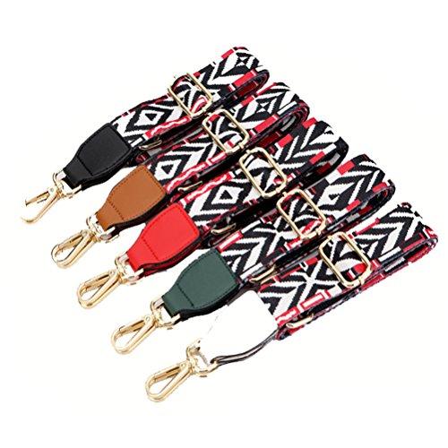 Bolso Recambio Universal Cinturón Del Correa Ajustable Mujeres De 140cm Hombro Negro Bolsa Umily de Para Hombro 80cm Accesorios Cinturón Desmontables 1q4xA