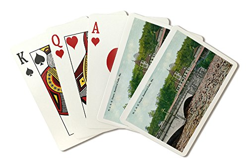 Rumford Falls, Maine - Maine Central Railroad Station (Playing Card Deck - 52 Card Poker Size with Jokers)