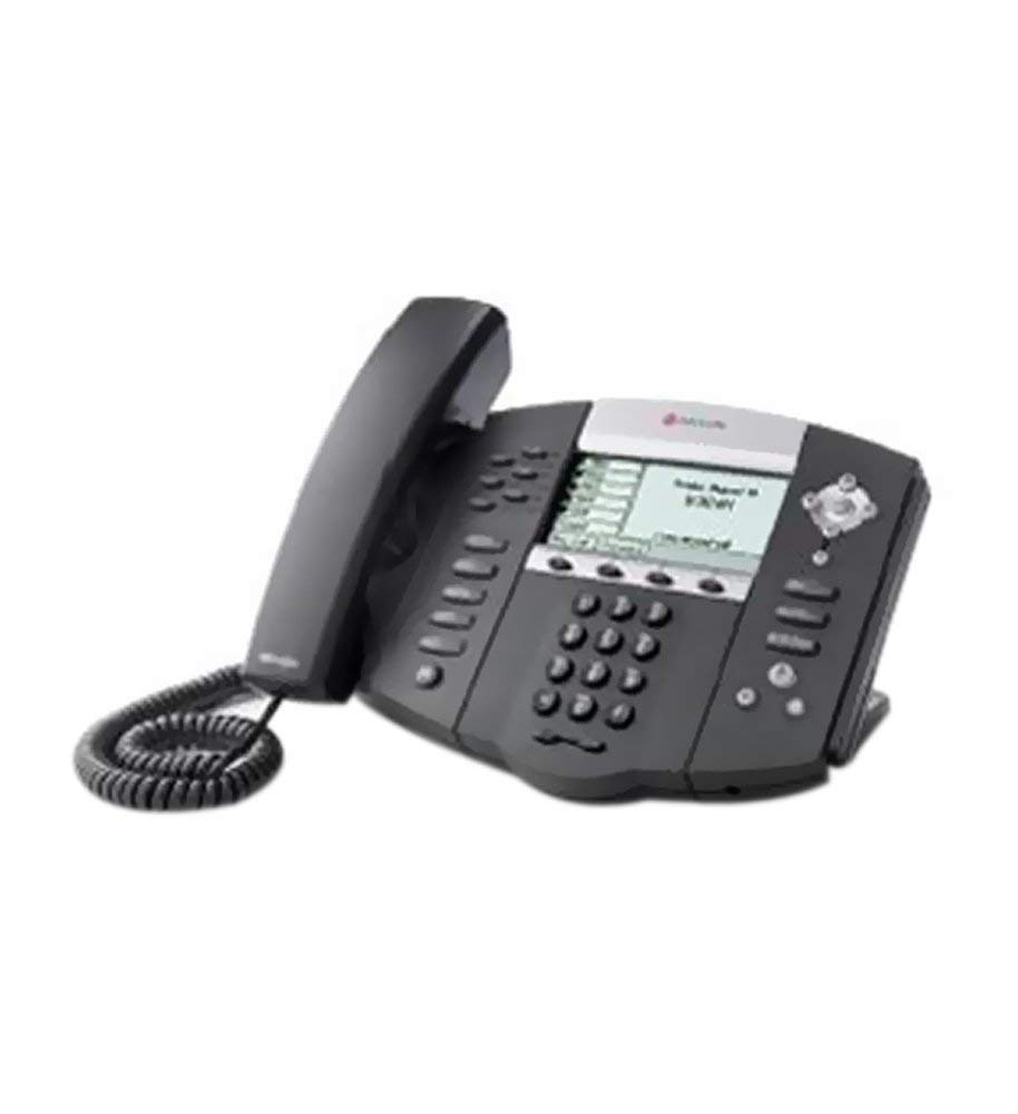 Polycom SoundPoint IP 650 Phone with Power Supply (Certified Refurbished) by Polycom (Image #1)