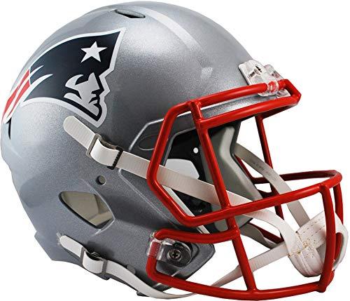 iddell New England Patriots Revolution Speed Full-Size Replica Football Helmet - NFL Replica Helmets ()