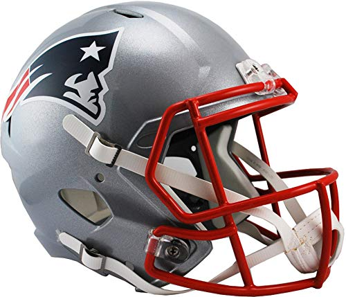 New Authentic Football - Sports Memorabilia Riddell New England Patriots Revolution Speed Full-Size Replica Football Helmet - NFL Replica Helmets