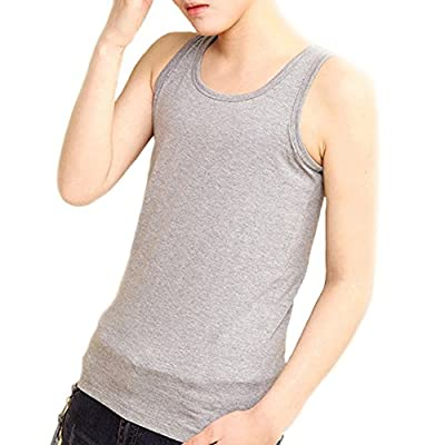 BaronHong Plus Size Chest Binder Cotton Vest Tank Tops For Tomboy Lesbian