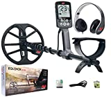 """Product review for Minelab Equinox 600 Multi-IQ Metal Detector with EQX 11"""" Double D Smart Coil"""