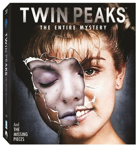 Twin Peaks (The Entire Mystery) - 10-Disc Box Set ( Twin Peaks - Complete Series / Twin Peaks: Fire Walk with Me ) [ Blu-Ray, Reg.A/B/C Import - Sweden ]