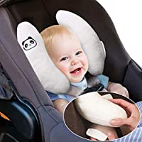 Baby Pillow Newborn Travel Cushion Adjustable for 0-18 Months,White