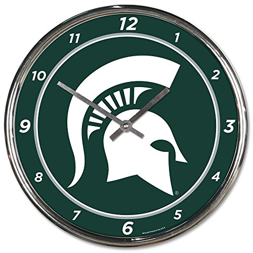 Michigan State Clock Michigan State Spartans Clock