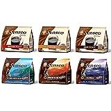 Senseo Coffee Variety Pack Sampler -6-flavor (Pack of 6)