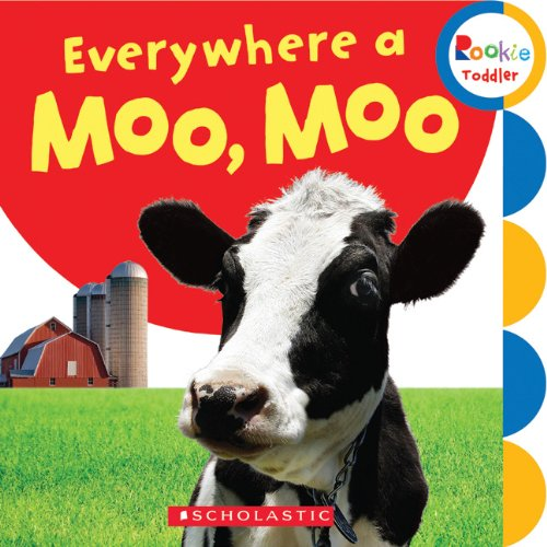 Download Everywhere a Moo, Moo (Rookie Toddler: First Concepts) PDF