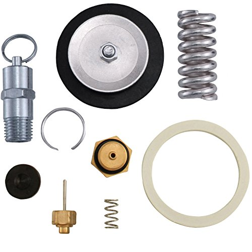 Kegco KC LH-RBK-54 Regulator Rebuild Kit for 54 Series Regulators, Black (Adjusting Washers Nut)