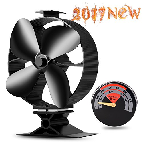 wood stove top fan - 8