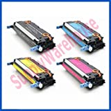 HP Q6470A Q7581A Q7582A Q7583A Toner Cartridges Remanufactured for HP Color LaserJet 3800 3800n 3800dn 3800dnt CP3505 CP3505n CP3505dn CP3505X Series Printers, Office Central