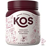 Best Beet Powders - KOS Organic Beet Root Powder - Premium Raw Review