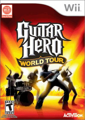 Guitar Hero World Tour Guitar Game for Nintendo Wii (Game Only)