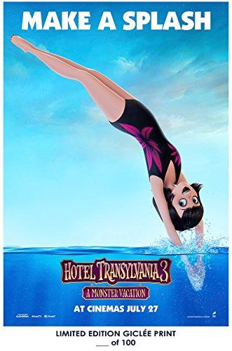 Lost Posters RARE POSTER thick HOTEL TRANSYLVANIA 3: SUMMER VACATION mavis 2018 movie REPRINT #'d/100!! 12x18