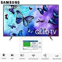"""Samsung Q6FN Smart 4K Ultra HD QLED TV (2018) Bundle (75"""" + Home Security Kit)"""