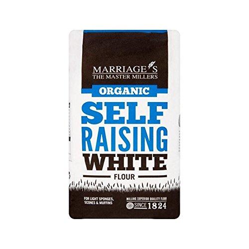 Marriage's Organic Self Raising White Flour 1kg
