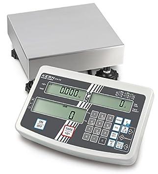 Balanza de plataforma [Kern IFS 6K-3SM] Balanza industrial con cómodo teclado numérico