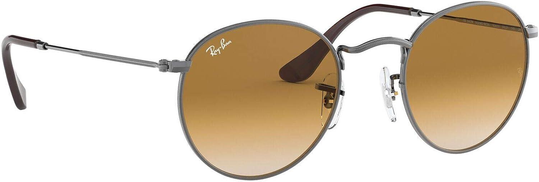 Ray-Ban Sonnenbrille ROUND METAL (RB 3447N) Noir (Canna Di Fucile)