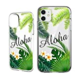 Shark Compatible Summer Collection Tropical Aloha Hawaii Travel TPU case Replacement for iPhone 11 Pro Max