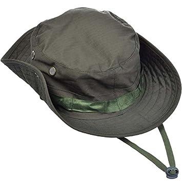 Japace® Táctico SWAT Color Wear Woodland Camo Algodón Boonie Selva gorra Para Wargame Deportes Caza Pesca actividades al Aire Libre Sombrero Hat ...