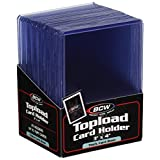 Thick 79PT Card Top Load Holder (Pack of 25), 3 x 4