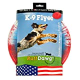Ruff Dawg K9-M K9 Flyer Dog Toy, Assorted Colors