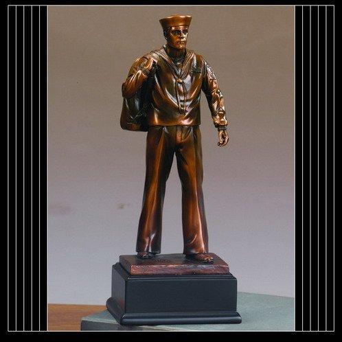 Navy Sailor Statue Figurine