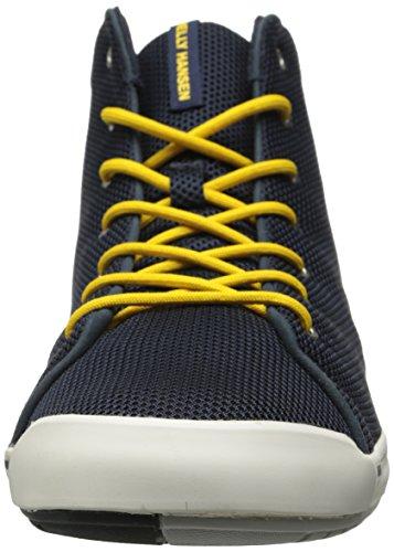 Helly Hansen Scurry Mid, Zapatillas de Deporte para Hombre Azul marino / Blanco / Amarillo