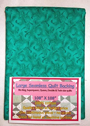 Quilt Backing, Large, Seamless, Teal, C49639-A09