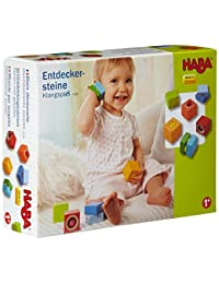 HABA Fun with Sounds Wooden Discovery Blocks with Acoustic Sounds (Made in Germany) BOBEBE Online Baby Store From New York to Miami and Los Angeles