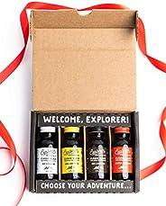 Explorer Gift Pack | Cold Brew Super Concentrate | 4 Caffeine Level Sampler