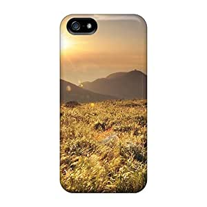 BqG1979nUAs Case Cover Sunset Ove Wheat Field Iphone 5/5s Protective Case