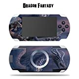 Mightyskins Protective Vinyl Skin Decal Cover Sticker for SONY PSP - Dragon Fantasy