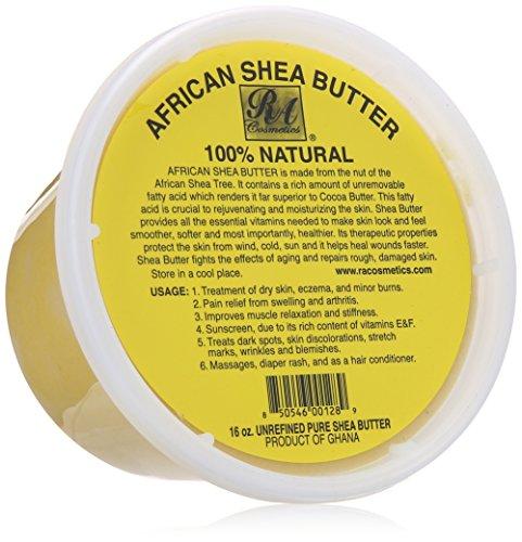 African Shea Butter 100% Natural 16oz (Organic Shea Butter Pure)