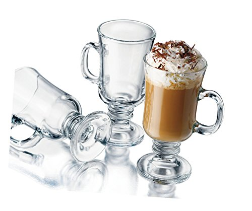 Libbey 8-1/2-Ounce Irish Coffee Mug, 4-Piece Set 4 Irish Coffee