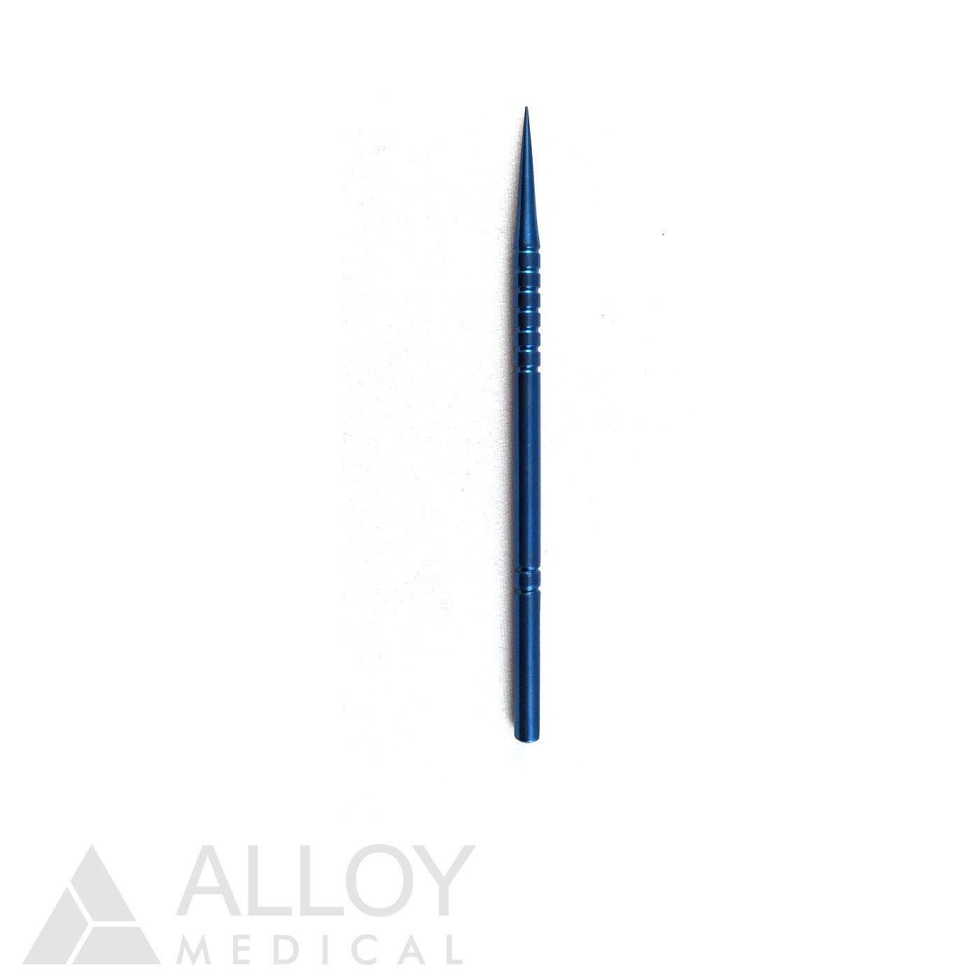 Wilder Lacrimal Punctum Dilator Fine Taper, Titanium, 9 cm Length, FDA Approved (CHIT-560)