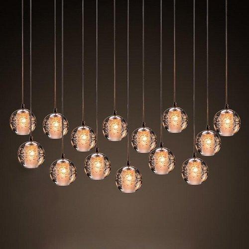 LightInTheBox Pendant Light G4 Retroifit 3W Chrome Plating Crystal Modern/Contemporary Pendant Lamp Chandelier for Dining Room 1 Light