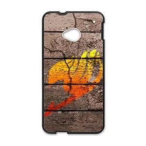 Artistic Fashion Unique Black HTC M7 case by lolosakes