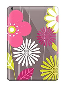 AmandaMichaelFazio TlrEYbm3933VSmmY Case For Ipad Air With Nice Funky Flower Drawing Appearance