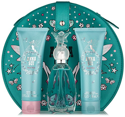 Anna Sui Secret Wish Women's 4 Piece Gift Set, 1.7 Ounce - Parfum Sui Anna
