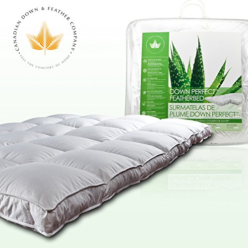 Down Perfect Feather Bed by Canadian Down & Feather Company