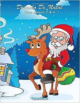 Desenho De Natal Para Colorir 3 4 Portuguese Edition Nick