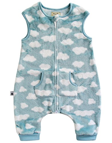 Vaenait Fleece Wearable Blanket Sleeper