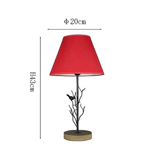 Lámpara de escritorio moderna de hierro forjado minimalista ...